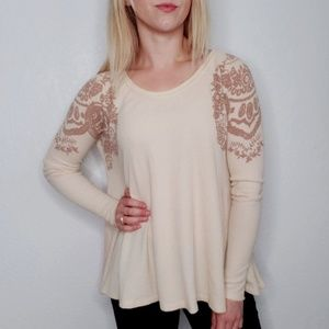Free People We the Free Flowy Floral Thermal 833